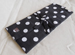 096-Black White Polka Dot