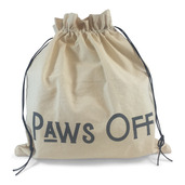 """Edict Project Bag-Large <br>""""Paws Off My Knitting"""""""