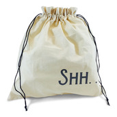 "Edict Project Bag-Large ""Shh. . I'm Counting"""