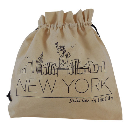 Stitches in the City Collectable Project Bags - ONLY AVAILABLE AT YOUR LOCAL YARN STORE picture