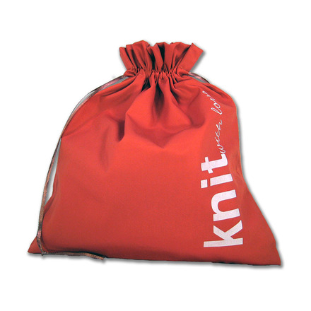 """Edict Gift Bag<br>""""Knit With Love"""" picture"""