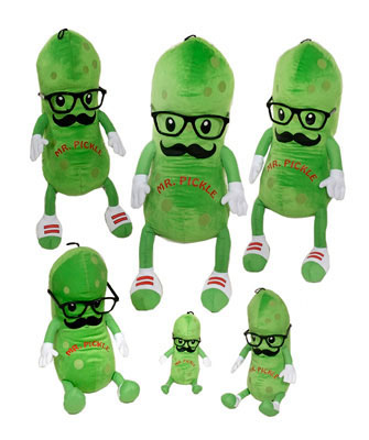 "Fiesta Stuffed Mr. Pickle 8"" picture"