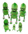 "Fiesta Stuffed Mr. Pickle 17"""