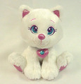 Sparkle Starz  Boo White Cat 8""
