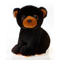 "Fiesta Stuffed Big Eyes Black Bear 9"""