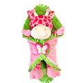 "Fiesta Blanket Babies? Pink Giraffe 11"""