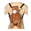 "16"" Giraffe Backpack"