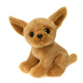 "Fiesta Stuffed Big Eyes Chihuahua 9"""