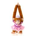 """Fiesta Stuffed Princess Monkey 20"""""""