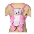 "16"" Pink Panda Backpack"