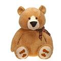"""Fiesta Stuffed Tan Sitting Bear 30"""""""