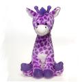 "Fiesta Stuffed Lavender Giraffe 17"""