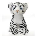 "Fiesta Stuffed White Tiger 15"""