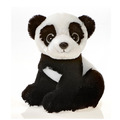 "Fiesta Stuffed Big Eyes Panda 9"""
