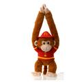 """Fiesta Stuffed Fireman Monkey 20"""""""