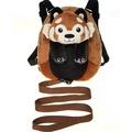 "10"" Red Panda Backpack Harness"