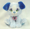 Sparkle Starz  Sparky Blue Dog 8""