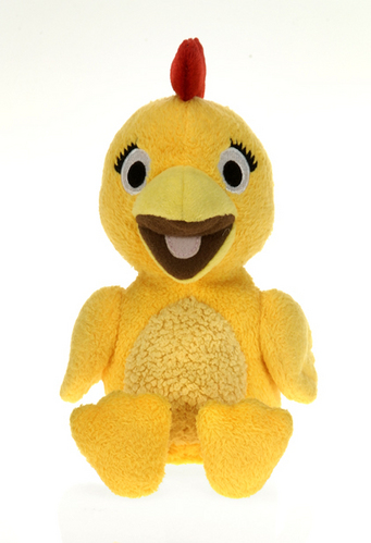 """Sprout - Chica plush from The Sunny Side Up Show 6"""" beanie picture"""