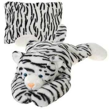 "Peek-A-Boo Plush  White Tiger 18"" picture"