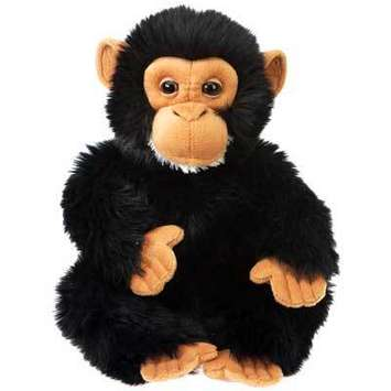 "Fiesta Stuffed Chimpanzee 10"" picture"