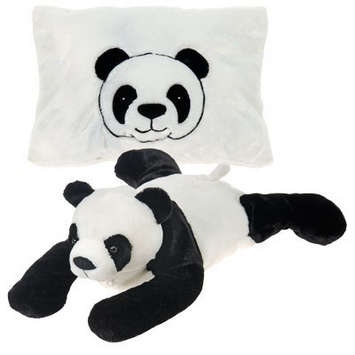 Peek-A-Boo Plush Panda 18&quot; picture