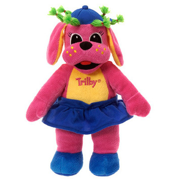 """Raggs??  12"""" TALL TRILBY PLUSH TOY picture"""