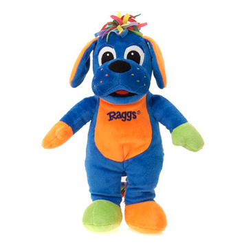 "Raggs??  DELUXE RAGGS 18"" PLUSH TOY picture"