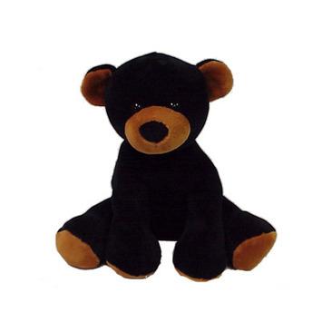 "Comfies  Bean Bag Black Bear 7.5"" picture"