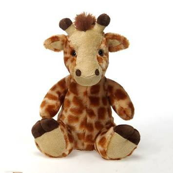 "Travel Tails - Bean Bag Giraffe 9"" picture"