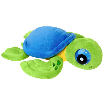 """Zoogly I's - Blue/Green Turtle 12"""" picture"""
