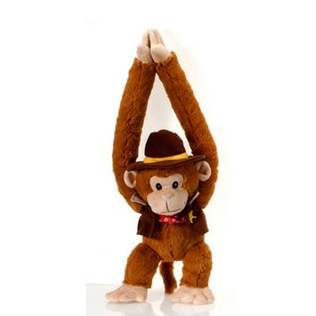 """Fiesta Stuffed Cowboy Monkey 20"""" picture"""