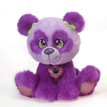 "Sparkle Starz   Belle Purple Panda 8"" picture"