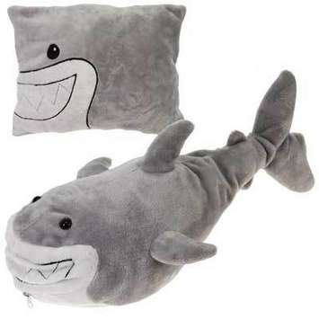 "Peek-A-Boo Plush Shark 18"" picture"