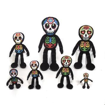 "10"" Los Muertos Skeleton Doll picture"