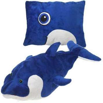 "Peek-A-Boo Plush Dolphin 19"" picture"