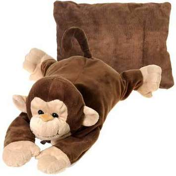 "Peek-A-Boo Plush Monkey 18"" picture"