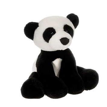 "Comfies  Bean Bag Panda 7.5"" picture"