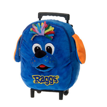 "RAGGS??  12"" RAGGS DOG BACKPACK & TROLLEY COMBO picture"