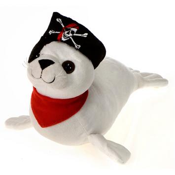 """Fiesta Stuffed Pirate Seal 14.5"""" picture"""