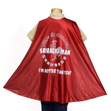 Sriracha Man Cape picture