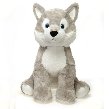 "Fiesta Stuffed Husky 15"" picture"