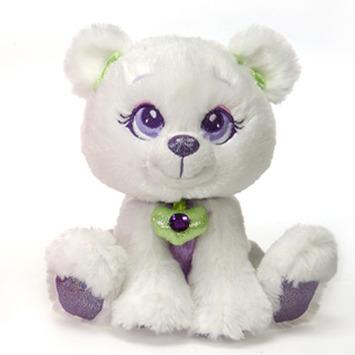 """Sparkle Starz  Snowflake White Bear 8"""" picture"""