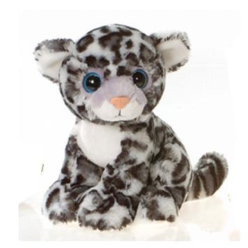 """Fiesta Stuffed Big Eyes Snow Leopard 9"""" picture"""