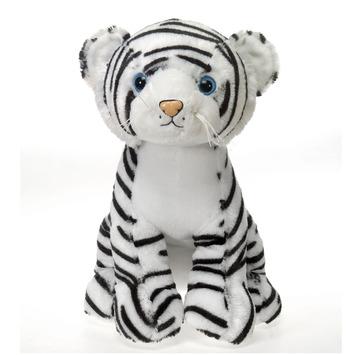 "Fiesta Stuffed White Tiger 15"" picture"