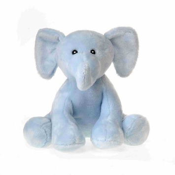 "Comfies - Blue Elephant w/Rattle 7.5"" picture"