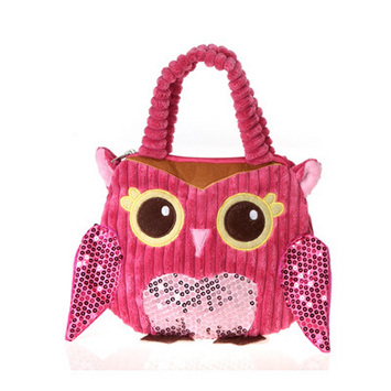 """Fiesta Girly Pink Owl  Purse 8.5"""" picture"""