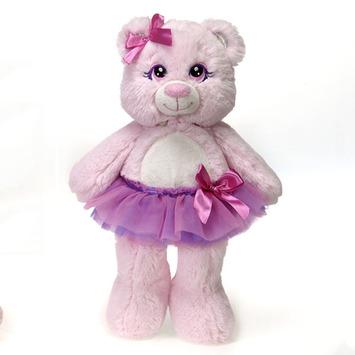 "Tutu Sweet - Juliet Pink Bear 12"" picture"