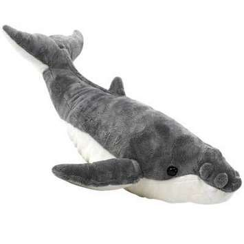 "Fiesta Stuffed Humpback Whale 22"" picture"