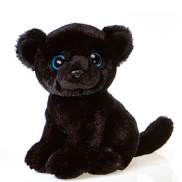 """Fiesta Stuffed Big Eyes Panther 9"""" picture"""