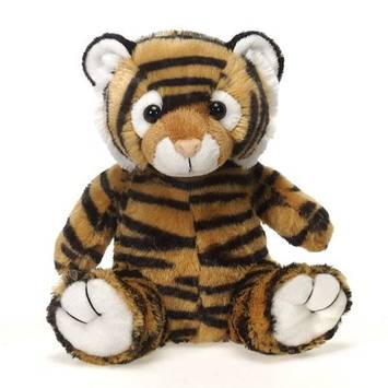 """Travel Tails - Bean Bag Tiger 9"""" picture"""